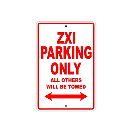 KAWASAKI ZXI Parking Only All Others Will Be Towed Jet Ski Watercraft Water Motorcycle Novelty Garage Aluminum 8