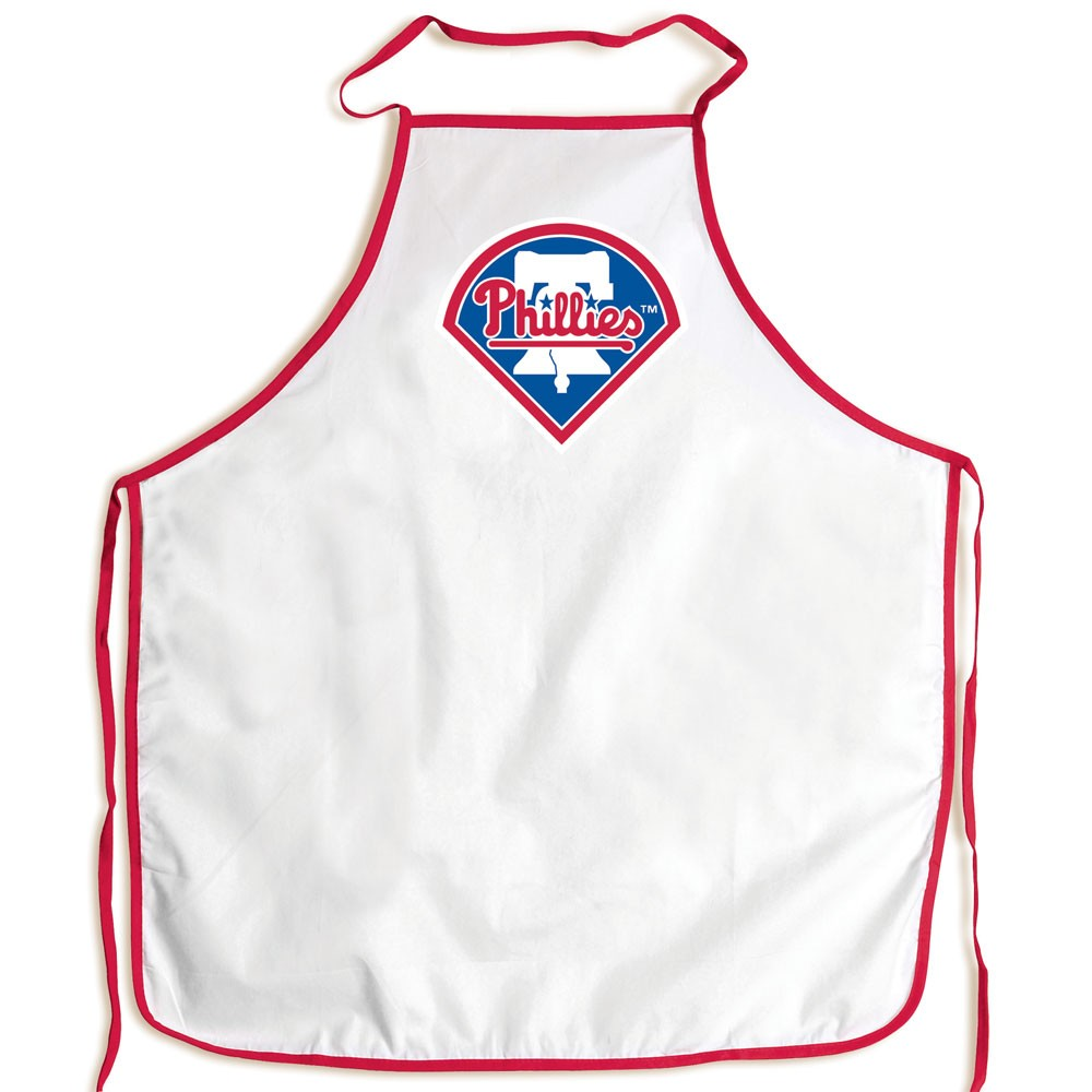 Philadelphia Phillies Official MLB Adult One Size BBQ Grill Chef's Apron by McArthur