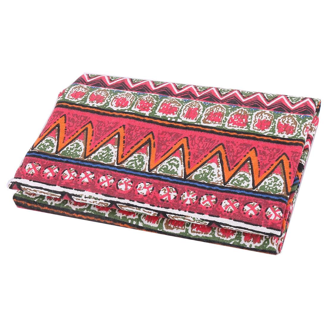 Unique BargainsHome Linen Geometric Print Table Sofa Cover Curtain Bag DIY Fabric 1.55M Length
