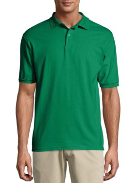 Hanes Men's Ecosmart Jersey Polo Shirt