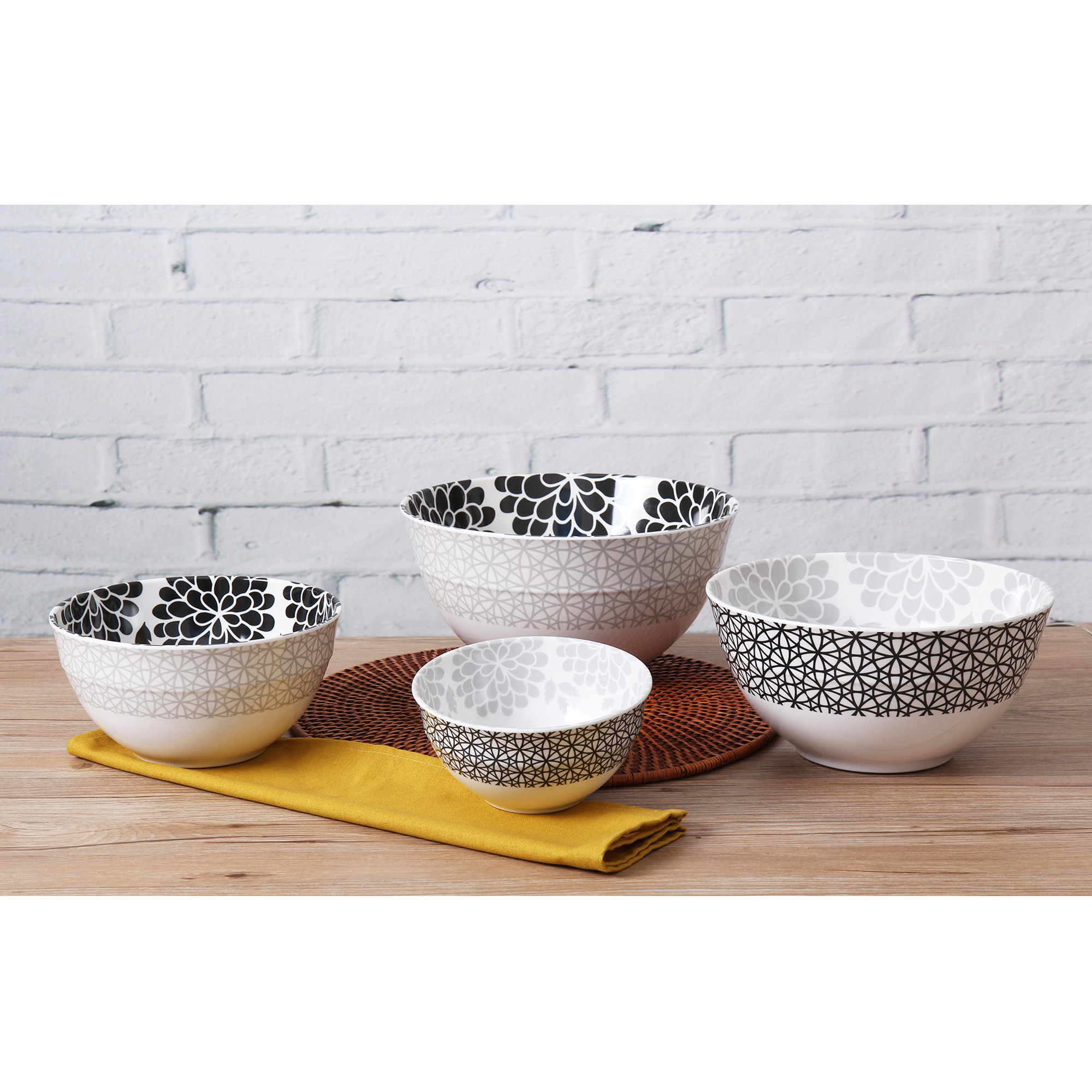 Mainstays Melamine Mixing Bowl Set