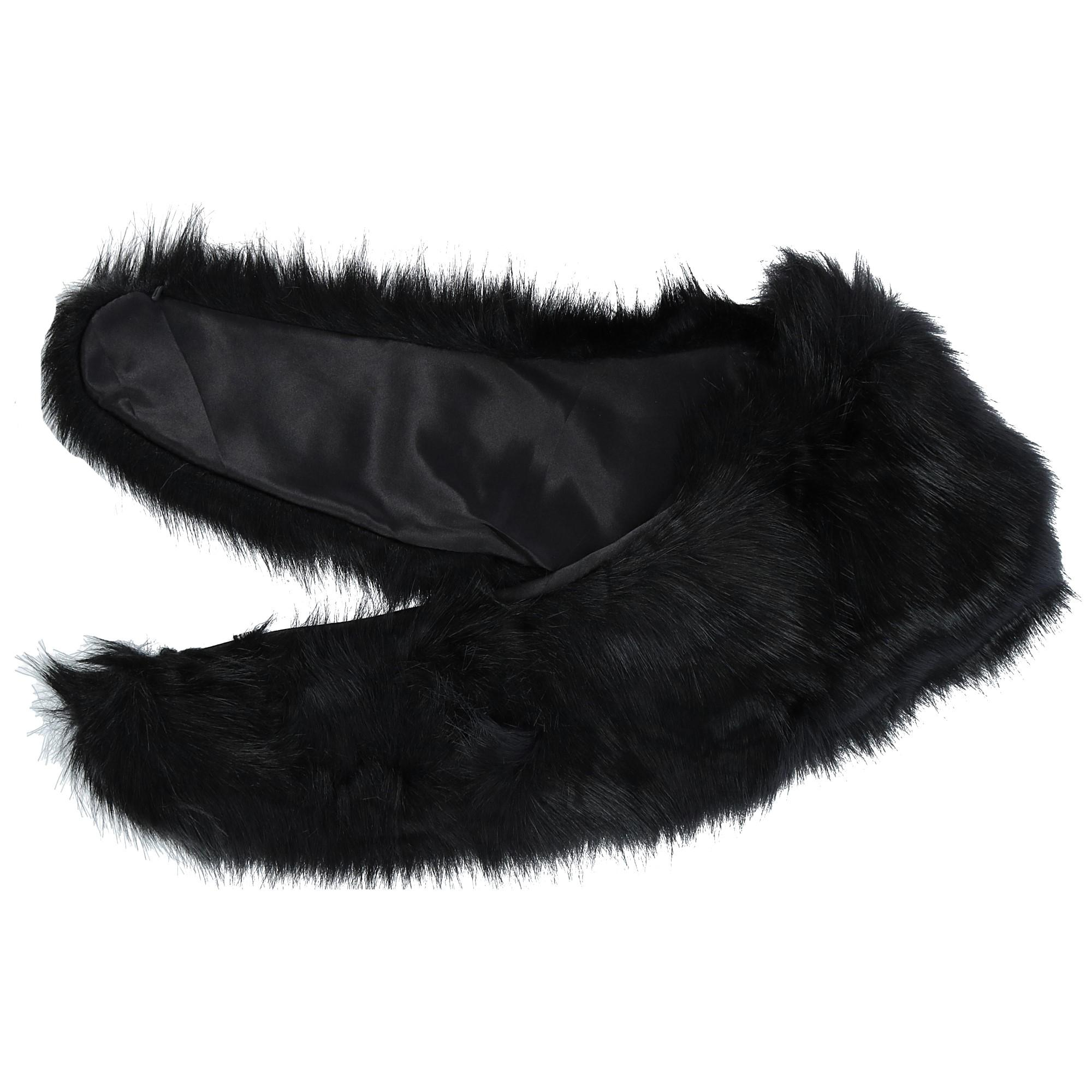 CTM Women's Easton Faux Fur Collar with Hook Closure - image 2 of 3