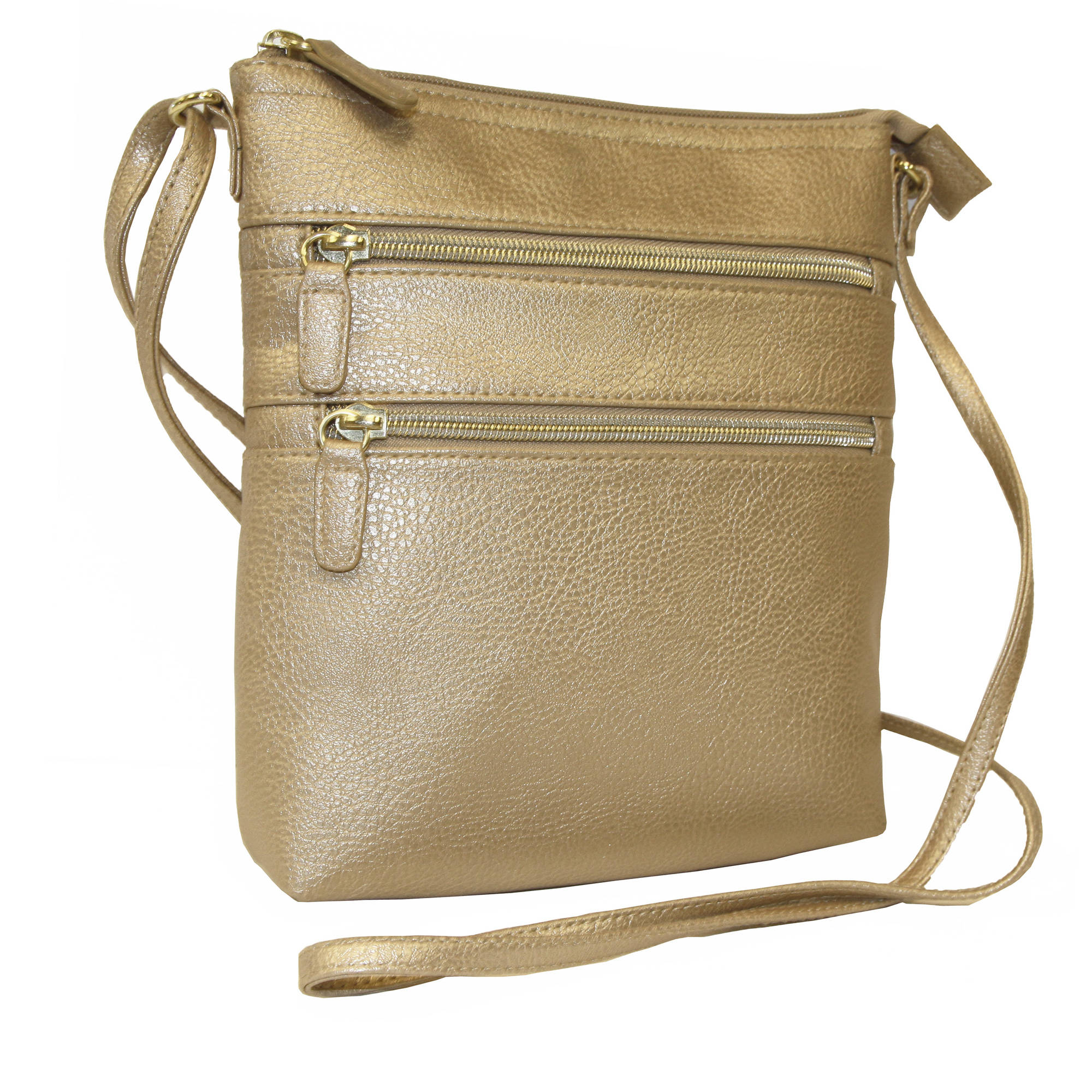 George Double Zip Wallet on a String