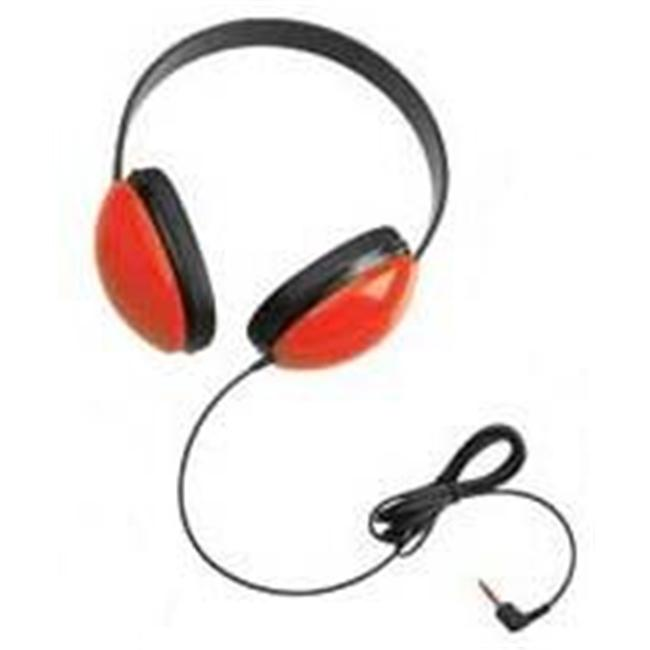 Califone International 2800-RD Listening First Stereo Headphones - Red