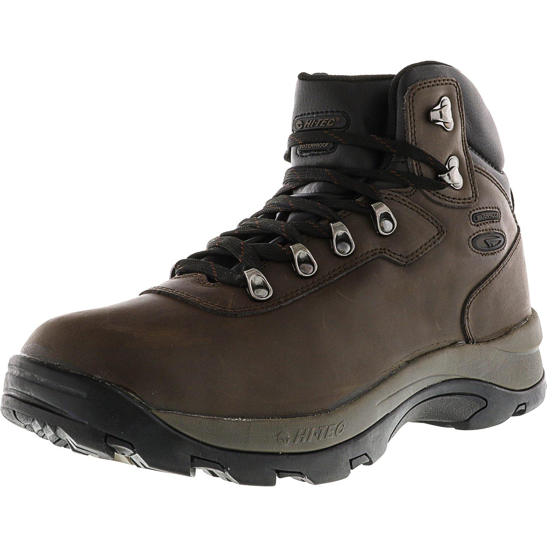 Hi-Tec Men's Ultimate Waterproof Dark Chocolate High-Top Hiking Boot 12M by Hi-Tec