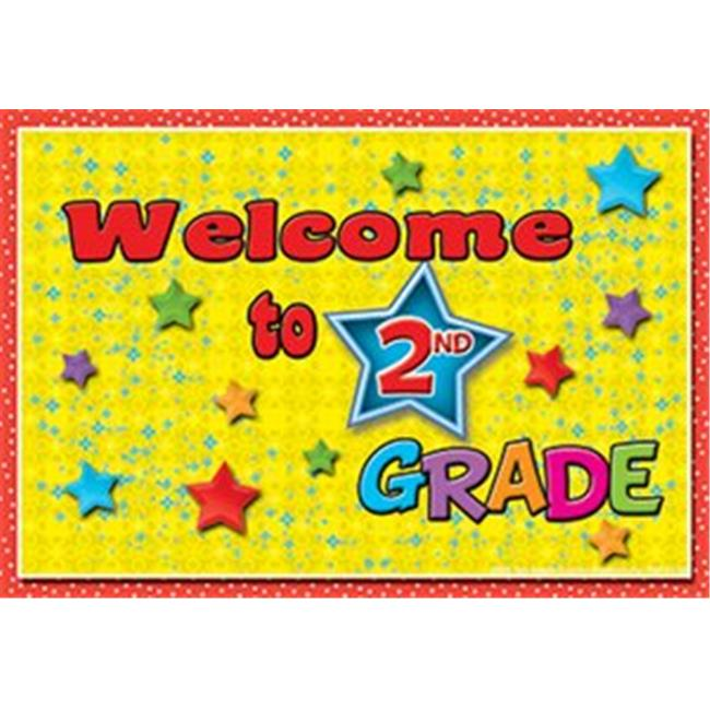 Top Notch Teacher Products TOP5118 Postcards Welcome To 2Nd Grade