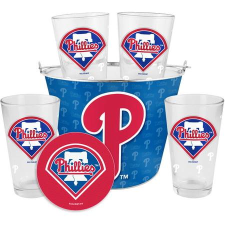 Boelter Brands MLB Gift Bucket Set, Philadelphia Phillies by