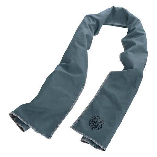 CHILL-ITS 6602MF Cooling Towel,Gray,40-7/8inL x 9-3/4inW G0459116