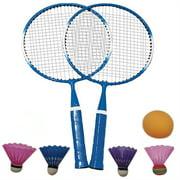 【LNCDIS】Badminton set, portable outdoor badminton combination set badminton net system