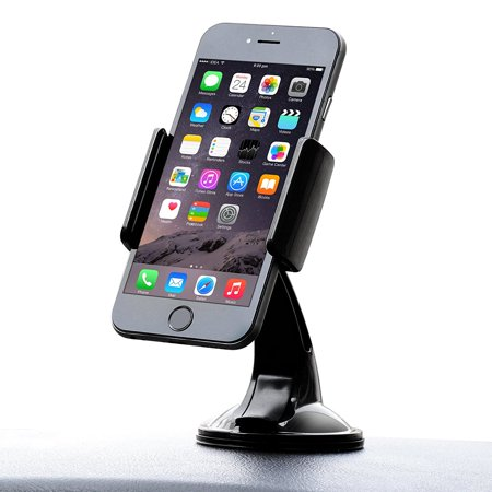 IPOW Windshield Dashboard Car Mount Holder for iPhone X/8/8Plus/7/7Plus/6s/6Plus, Up to 3.5