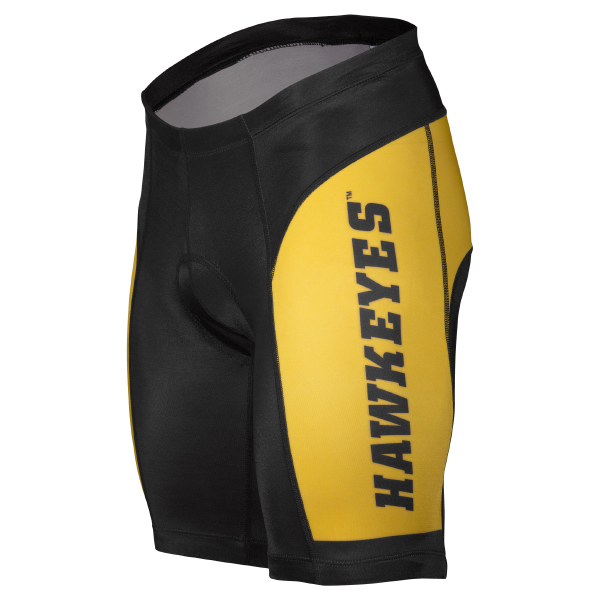 Adrenaline Promotions University of Iowa Hawkeyes Cycling Shorts