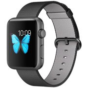 Apple Watch Sport Space Gray Aluminum Case with Black Woven Nylon 42MM (first-generation)