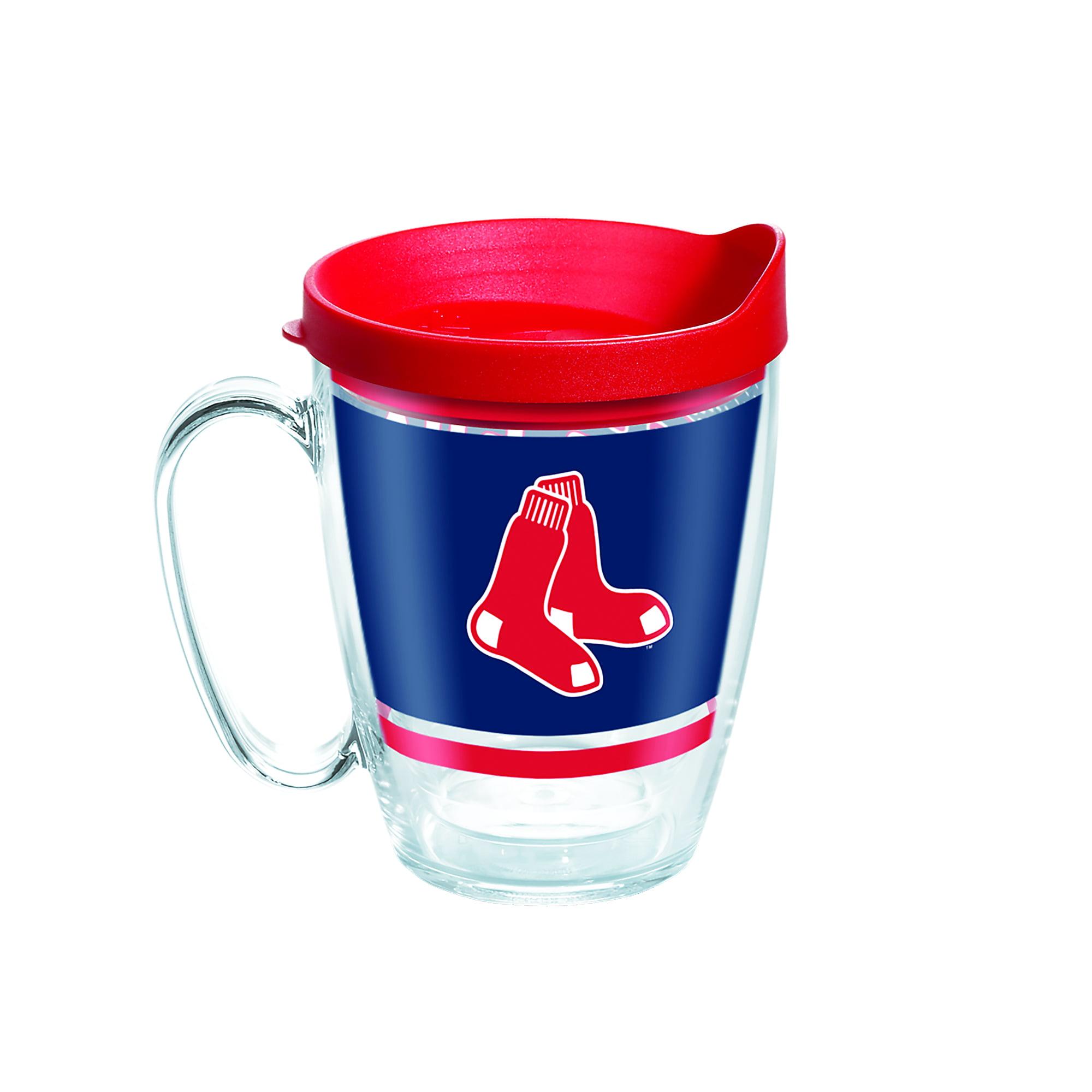 MLB Boston Red Sox Legend 16 oz Coffee Mug with lid