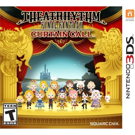 Theatrhythm Final Fantasy: Curtain Call, Square Enix, Nintendo 3DS,