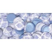 Candi Dot Printed Embellishments 0.35oz-Afternoon Tea