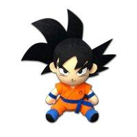 "Great Eastern GE-52337 Dragon Ball Super Goku Sitting Pose Plush, 8"""