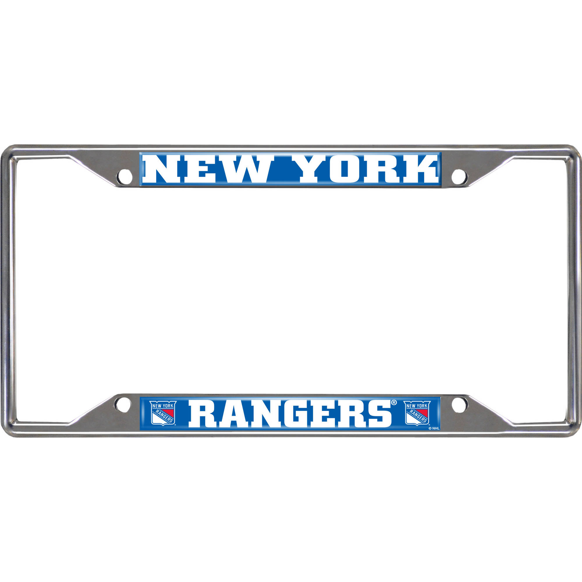 NHL New York Rangers License Plate Frame