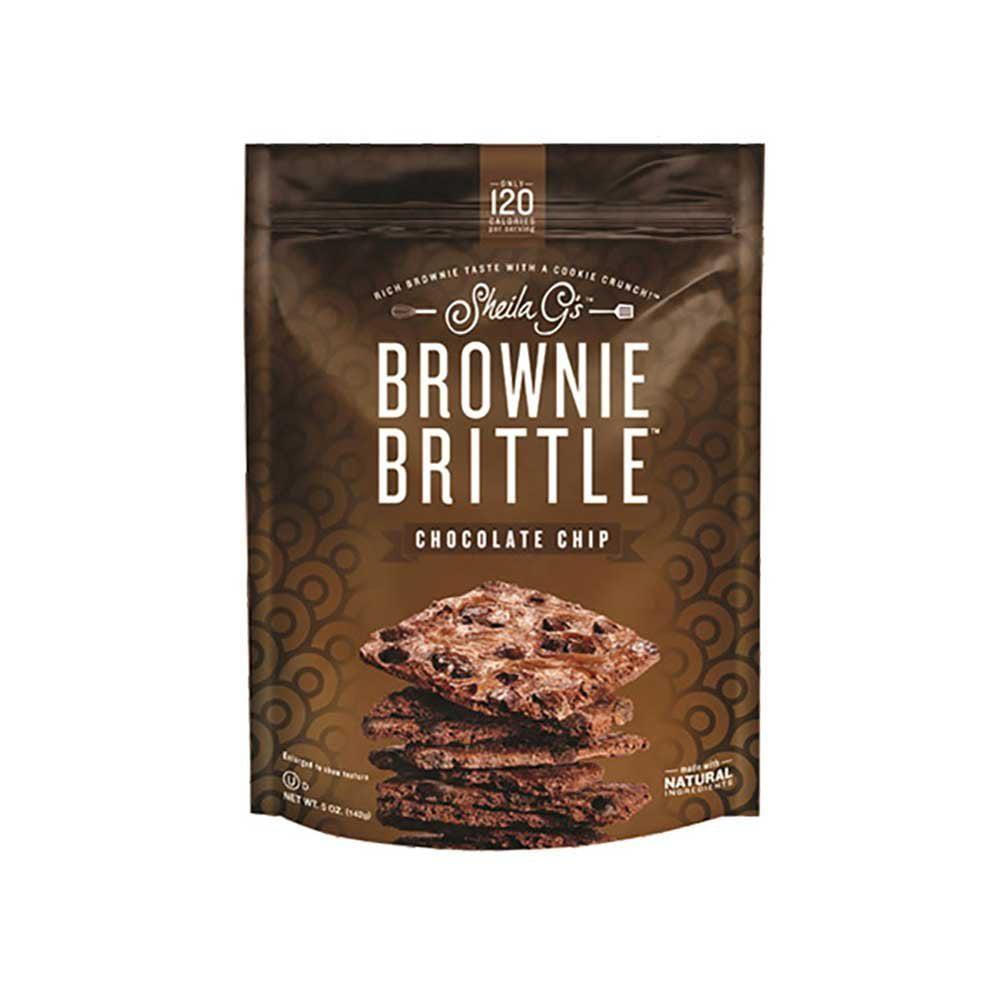 12 PACKS : Sheila G's Brownie Brittle 5 Oz.