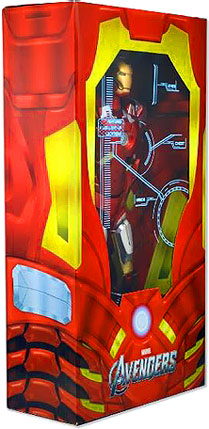 NECA Marvel Avengers Iron Man 1:4 Action Figure by