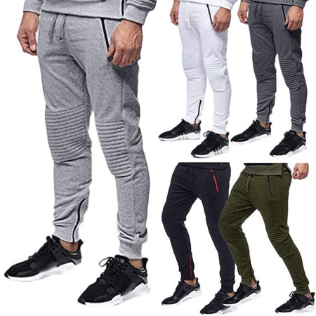 top-rated various colors save up to 80% Men Gym Slim Fit Trousers Trackpants Bottoms Stiped Skinny Joggers Sweat  Pants