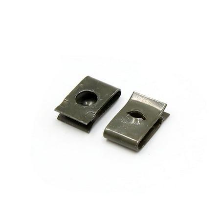 50 Pcs Speed Fastener U Nuts Interior Trim Panel Self Tapping Screw Spire Clips (Auto Interior Fastener)