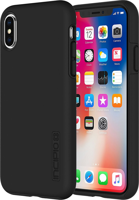 Incipio DualPro for iPhone X Black Black by INCIPIO
