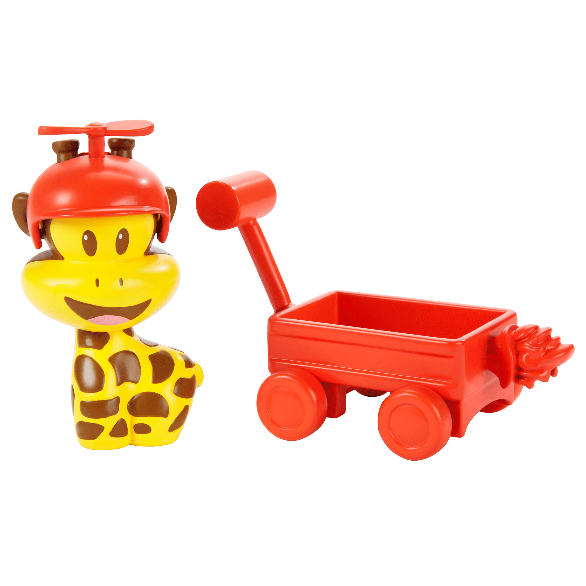 Fisher Price Julius Jr. Clancy and His Rocket Wagon by Mattel