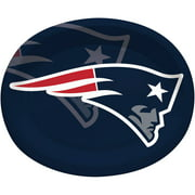 New England Patriots Oval Platters, 8-Pack