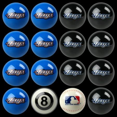 MLB Imperial Toronto Blue Jays Pool Billiard Ball Full Set