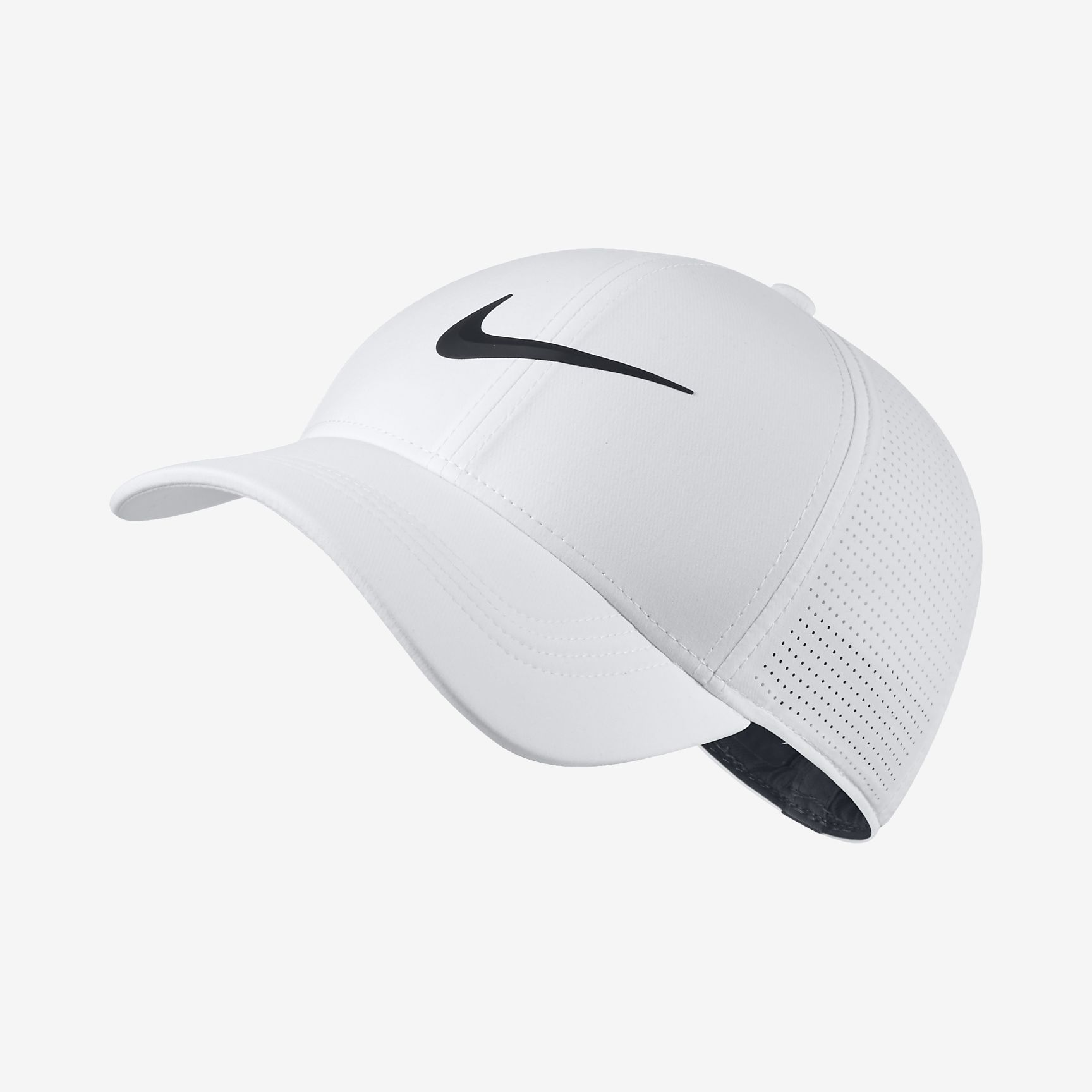 NEW 2018 Nike Aerobill L91 Perforated Statement White Fitted L XL Hat Cap -  Walmart.com 067be9d60388