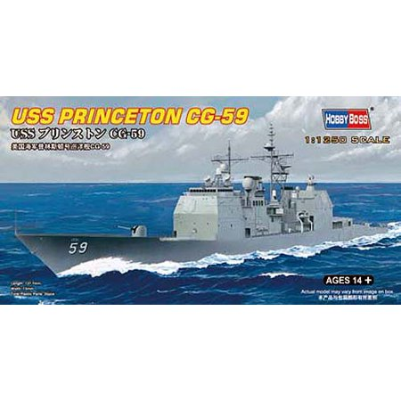 Missile Kit - HobbyBoss 82503 US Guided Missile Cruiser Princeton 1/1250 Scale Model Kit
