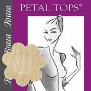 Braza Petal Tops Disposable 5pr Petal Beige