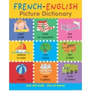 French-English Picture Dictionary - eBook