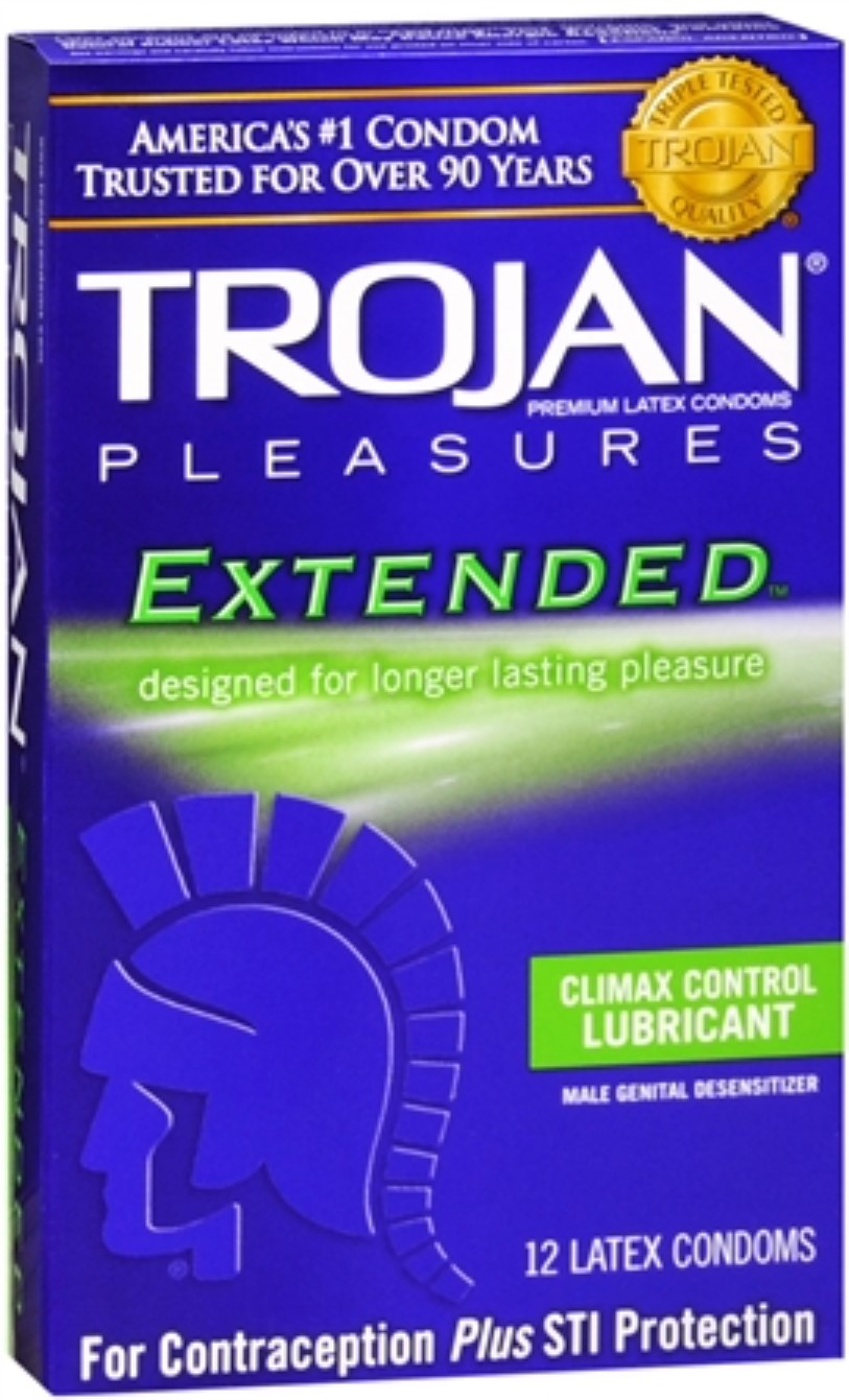 Trojan last longer condoms