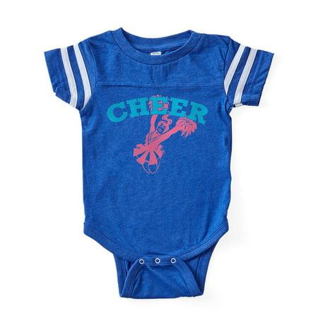 ffe9912db2a CafePress - Cheer - Cute Infant Baby Football Bodysuit - Walmart.com