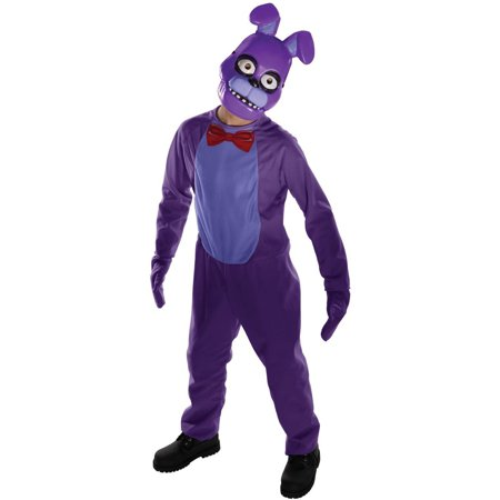Five Nights at Freddys: Bonnie Child Costume L](Kids Costumes At Walmart)