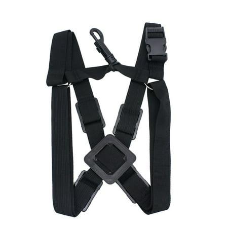 Adjustable Alto Tenor Soprano Sax Saxophone Harness Chest Shoulder Strap Durable (Protec Sax Neck Strap)