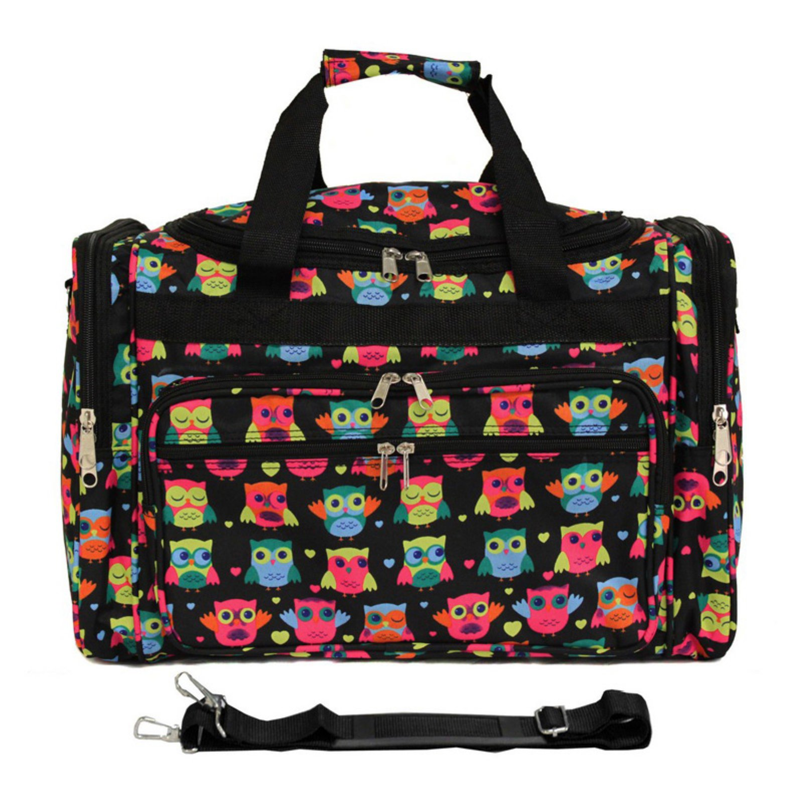 World Traveler Owl 22 in. Travel Duffel Bag