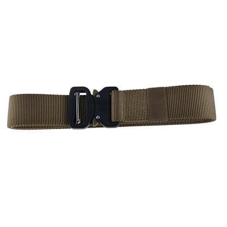KABOER Men's Belt Outdoor Hiking Sports Waistband Military Belt Nylon Buckle Belt 1 Pcs