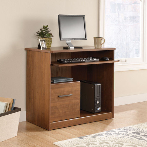 Sauder Chamber Hill Computer Workstation, Sand Pear