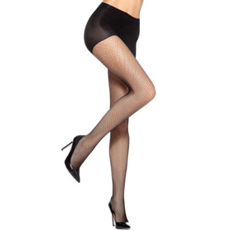 HUE Womens Fishnet Control Top Pantyhose Style-7200N Hue Opaque Control Top Tights Pantyhose
