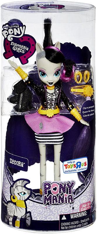 "My Little Pony Equestria Girls Ponymania Zecora Exclusive 9"" Doll by Hasbro"