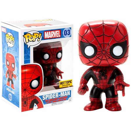 Funko POP! Marvel Spider-Man Vinyl Bobble Head [Red & Black]