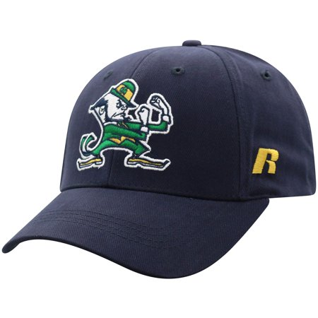 Men's Russell Navy Notre Dame Fighting Irish Endless Adjustable Hat - OSFA