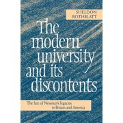The Modern University and Its Discontents (Paperback)