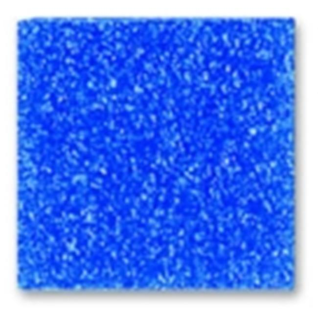 Mosaic Mercantile Glass Authentic Square Mosaic Tile - 0. 38 x 0. 38 inch - Cobalt, 1 Lbs.