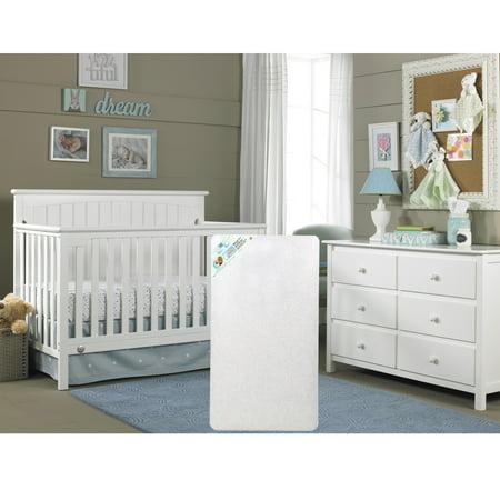 Fisher-Price Colton 4-in-1 Convertible Crib with BONUS Sealy (Fisher Price Newbury 4 In 1 Crib)