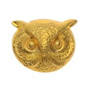 Nunn Design Stamping, 20x24.5mm Owl Face, 1 Piece, Brass