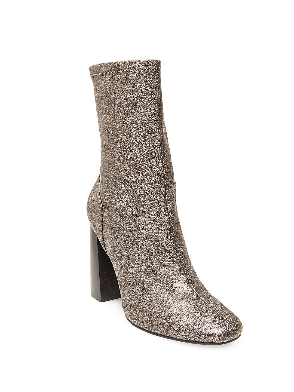 Maala Microsuede Ankle-Length Boots