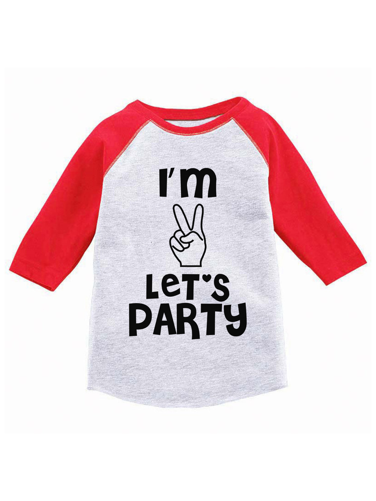 Awkward Styles Im Two Lets Party Toddler T Shirts Infant T Shirts 2nd Birthday Graphic Baby Shirts Kids Shirts